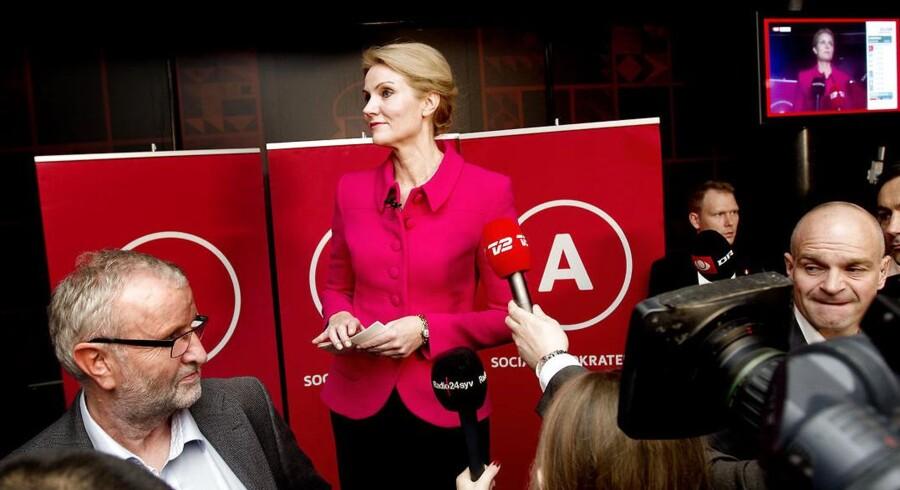 DRs brug af exitprognoser til kommunalvalget fik blandt andet Helle Thorning til at holde tale om, at hendes parti, Socialdemokratiet, var gået tilbage. Det resultat var usandt.