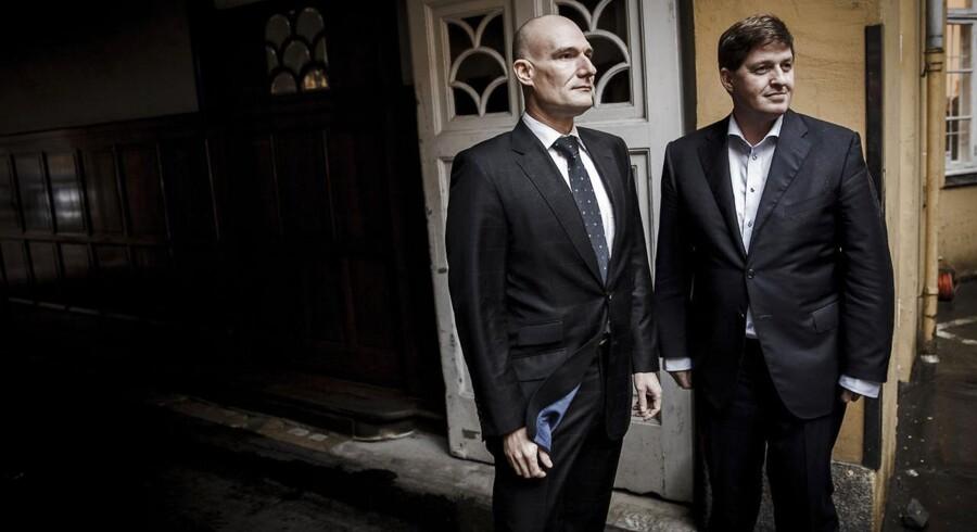 Jan Leth Christensen og Michael Buchholz - to af de tre stiftere af mikroforsikringsagenturet GNFF.