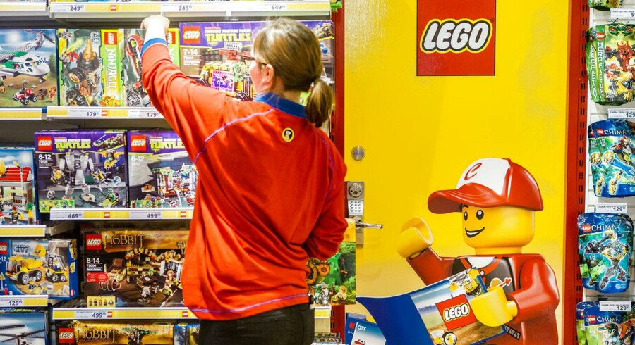 1. Lego forsvarer sin første plads fra 2013