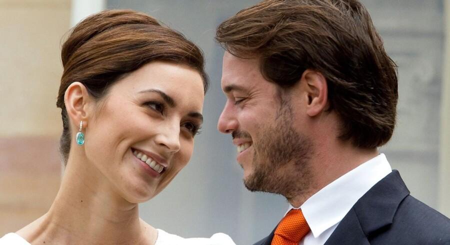 Søndag blev prins Felix og prinsesse Claire af Luxembourg forældre til en lille pige, der skal hedde Amalia.