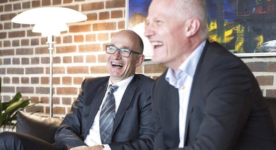 """""""Mads Nipper er et oplagt valg,"""" siger Grundfos-formand Jens Moberg. Foto: Claus Fisker"""
