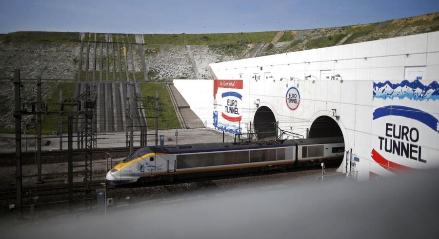 Første skridt i en øget privatisering for Storbritanien vil være at sælge statens andel af Eurostar-højhastighedtog på strækningen London-Paris.