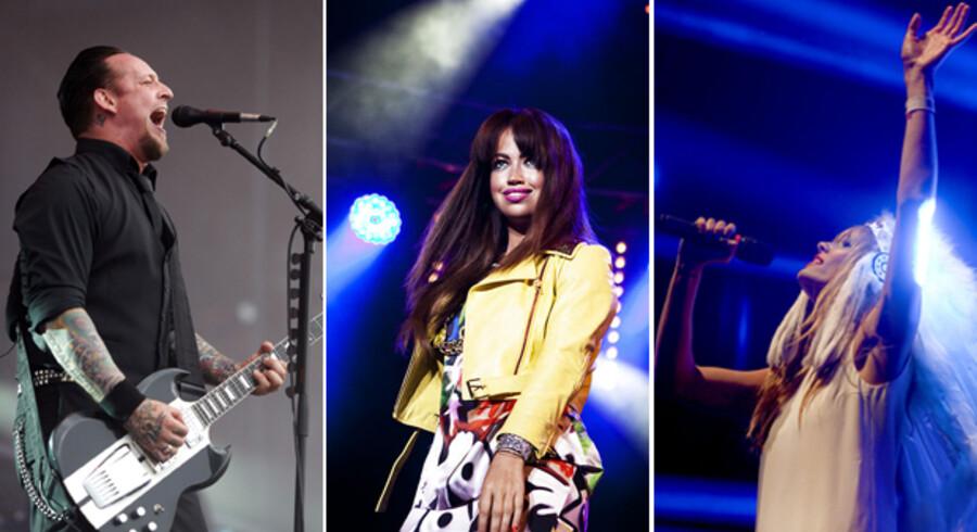 Volbeat-forsanger Michael Poulsen, Aura og Oh Land-sanger Nanna Øland har stor succes i Tyskland.