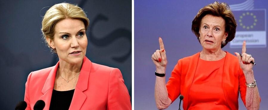 Helle Thorning-Schmidt fik mandag opbakning fra uventet kant, da EU-Kommissionens viceformand, Neelie Kroes, på Twitter skrev, at hun støttede den danske statsminister som afløser for Herman van Rompuy.