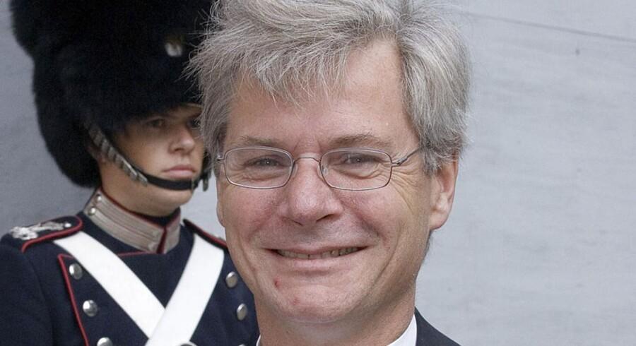 Arkivfoto: Den danske ambassadør i USA, Peter Taksøe-Jensen, her til audiens hos Dronning Margrethe.