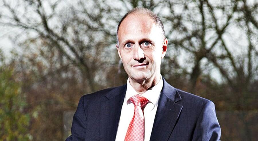 »Vi ser nu en lysning på den måde at forstå, at vi ser vores vaccinesalg og markedet er stabiliseret,« siger direktør i ALK-Abelló Jens Bager (bill.).
