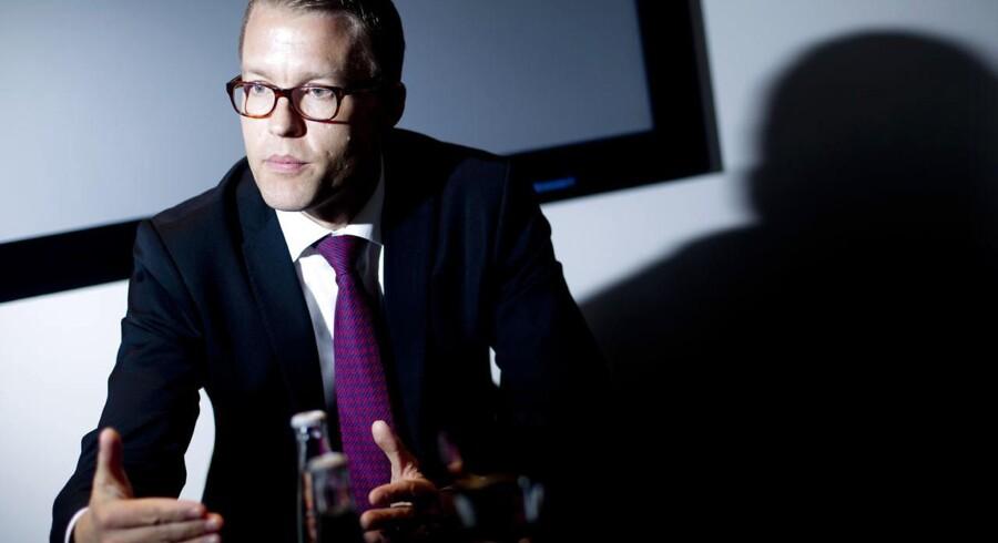 Jakob Riis, direktør for global marketing, forklarer, hvorfor Novo Nordisk ikke vil sælge Tresiba i Tyskland lige nu.