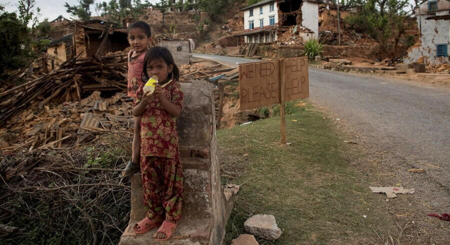 Sindhupalchowk-distriktet blev hårdt ramt af jordskælvet i Nepal.