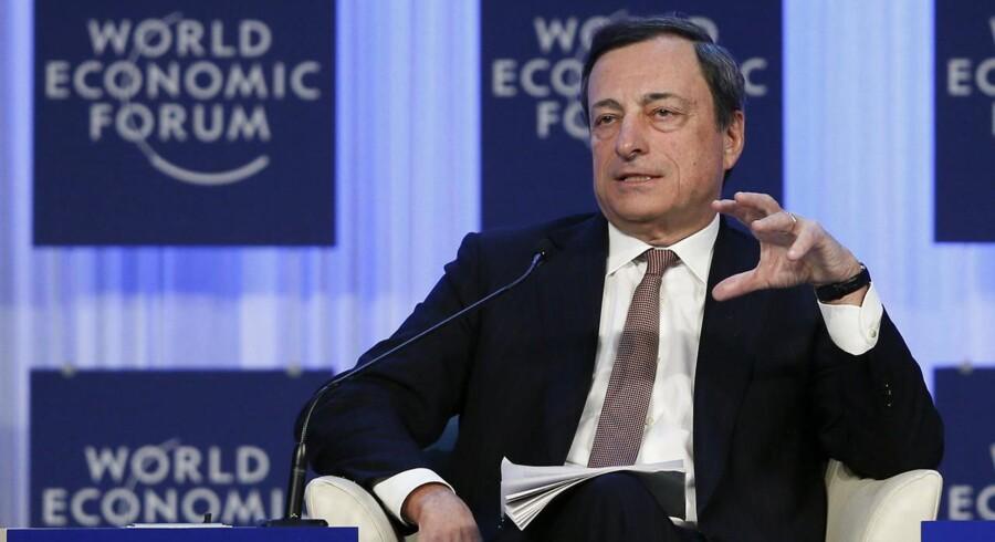 """""""Jeg har gjort mit, nu er det jeres tur"""". Sådan lød det overordnede budskab fra centralbankschef, Mario Draghi til EUs ledere i dag."""