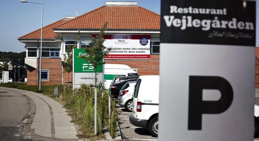 Amin Skov, ejer af Vejlegården, er i konflikt med 3F efter, at han i marts måned indgik kontrakt med Krifa.
