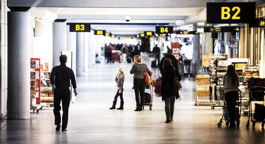 En mellemlanding i Danmark tæller som ophold i landet, men det gør resten af ferien ikke.