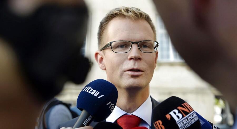 »Vi skal have fut i det internationale samarbejde, for vi kan ikke gøre det her alene,« siger skatteminister Benny Engelbrecht (S) om kampen mod skattesnydere. Arkivfoto: Christian Liliendahl