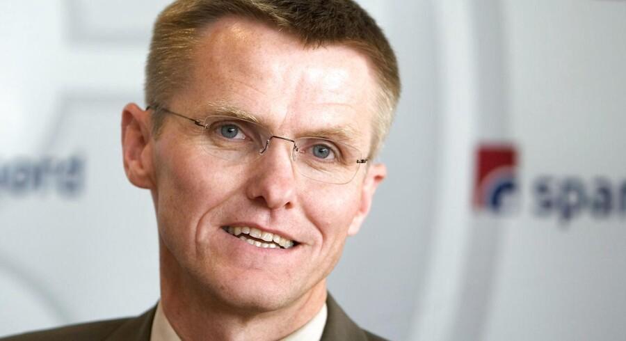 Administrerende direktør for Spar Nord Bank Lasse Nyby.