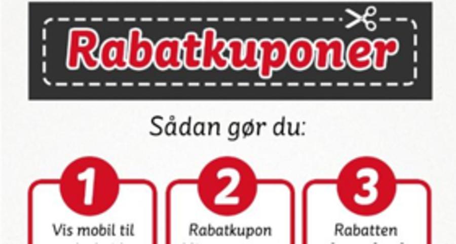 Rabatkuponer stormer frem i DK