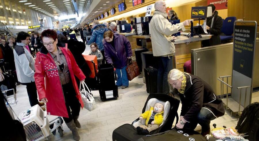 Der bliver meget travlt de kommende uger i Københavns Lufthavn i Kastrup.