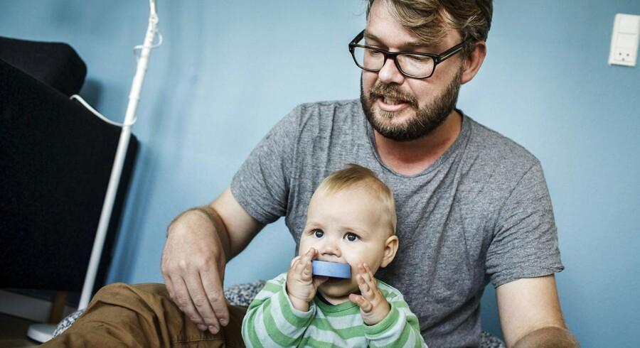 Nicolai Gjøg er far og på barsel.