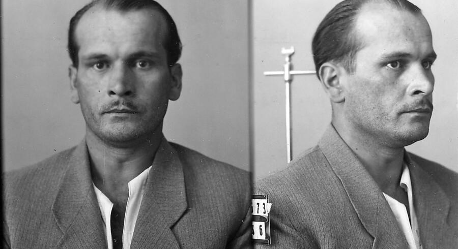 Louis Nebel blev løsladt efter at have udstået seks af de idømte 16 års fængsel. Foto: Politihistorisk Museum