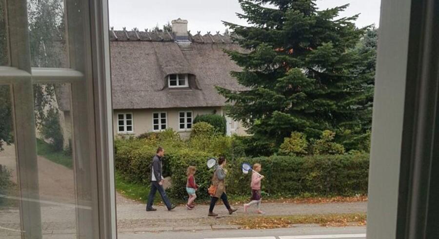 Jussi Adler-Olsens udsigt fra sommerhuset i Rørvig.
