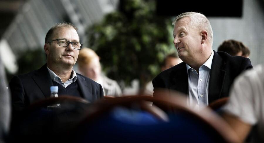 Tommy Håkansson og Aldo Petersen optræder sammen ved Brøndby-arrangement.
