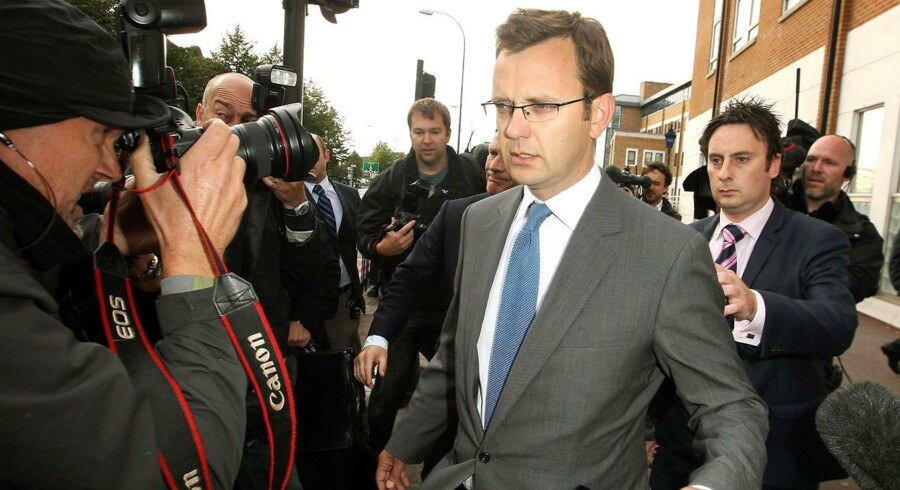 Tidligere pressechef for David Cameron, Andy Coulson.