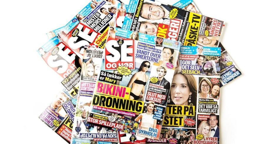 Siden skandalen om Se og Hørs arbejdsmetoder er salget af ugebladet faldet betragteligt i både Coop og Dansk Supermarkeds butikker.