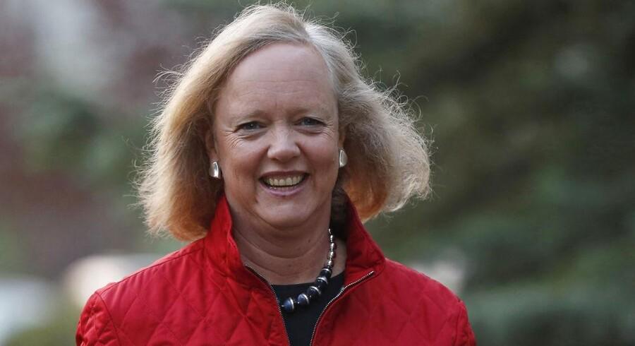 HPs nye topchef, Meg Whitman, foretager gigantisk nedskrivning for at få fremtiden på plads. Arkivfoto: Jim Urquhart, Reuters/Scanpix