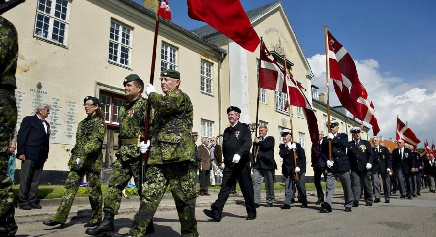 »Forsvarets Dag på Kronborg« - en hjemmeværnstradition. De frivillige udfører mange forskellige slags opgaver for samfundet, men må nu se langt efter videreuddannelse, som er sparet væk året ud.