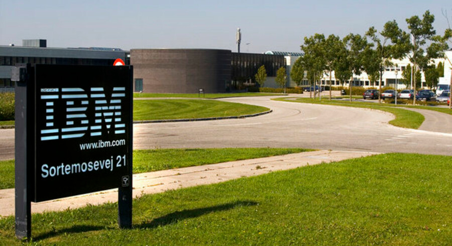 IT-giganten IBM (her det danske hovedkontor) forhandler om at overtage konkurrenten Sun Microsystems. Foto: Torben Christensen, Scanpix