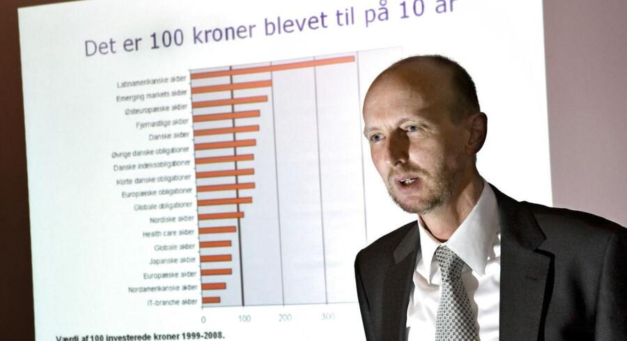 Jens Jørgen Holm Møller, direktør for InvesteringsForeningsRådet, ser ikke noget odiøst i de forskellige gebyrer.