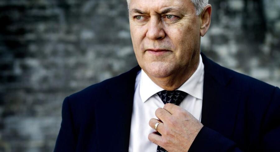Tidligere bankdirektør Frank Christensen. I dag er det Vagn Thorsager, der er topchef.