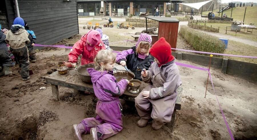 ARKIVFOTO. Forældre i både København, Aarhus og Sønderborg snyder sig til tilskud til institutionspladser, mens Esbjerg til gengæld melder om lovlydige børnefamilier.