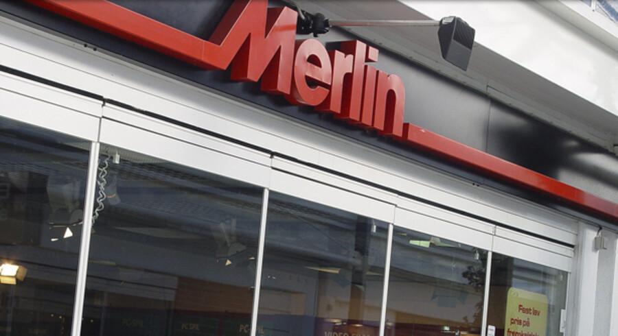 Elektronikkæden Merlin er klar til at udvide til andre skandinaviske markeder gennem opkøb. Arkivfoto: Scanpix