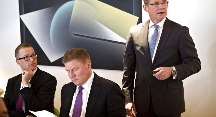 Lars Rebien Sørensen (til højre) og Novo-ledelsen brugte et par dage på at analysere Tresiba-afvisningen, før de meldte det offentligt ud.
