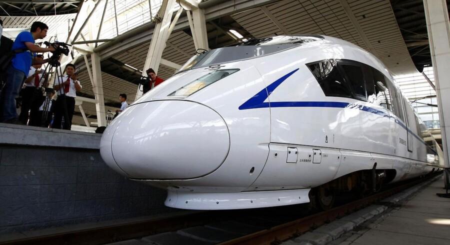Kinesisk højhastighedstog