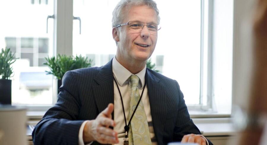 Direktør Henrik Bjerre-Nielsen for Finansiel Stabilitet.