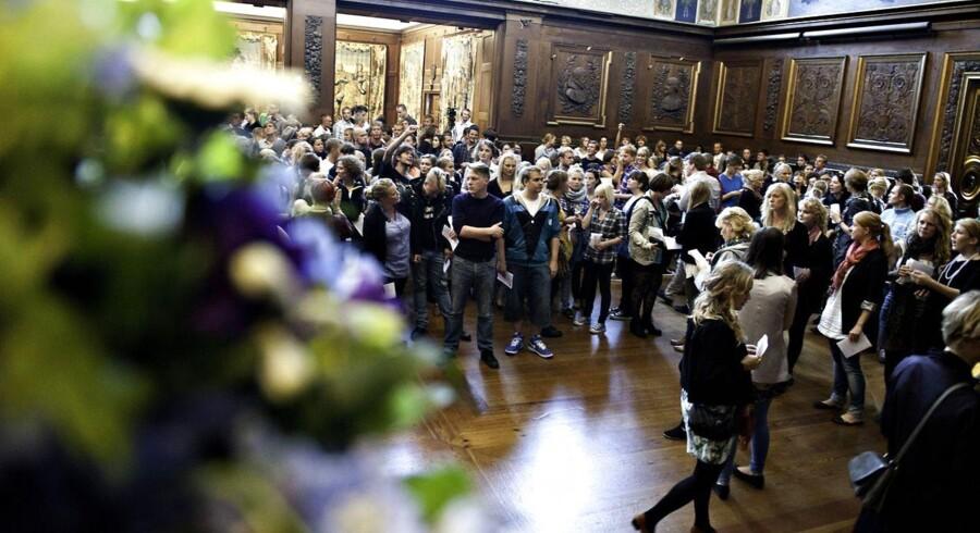 Immatrikulation på Københavns Universitet.