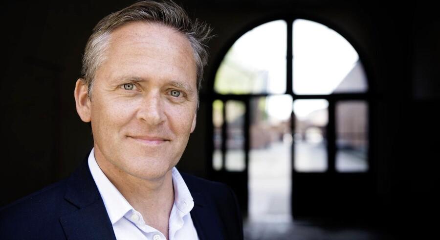 Anders Samuelsen er klar til at sætte sig på en ministertaburet.