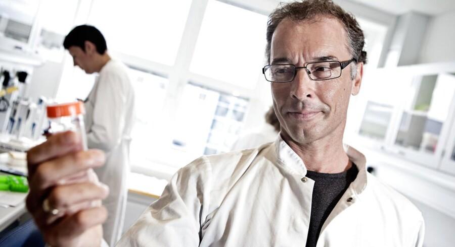 Novo Nordisks koncerndirektør for forskning med ansvar for forskning Mads Krogsgaard Thomsen. Fotograferet i Novos forskningsafdeling i Måløv ved København