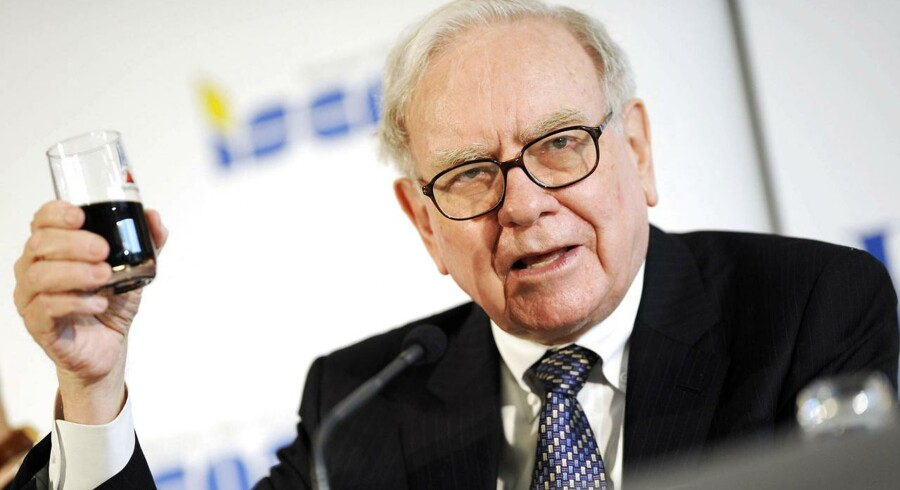 Warren Buffett er et af verdens rigeste mennesker.