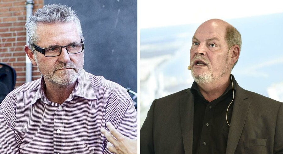 Socialdemokraterne Jan Johansen og Carsten Hansen er ikke længere de bedste venner.