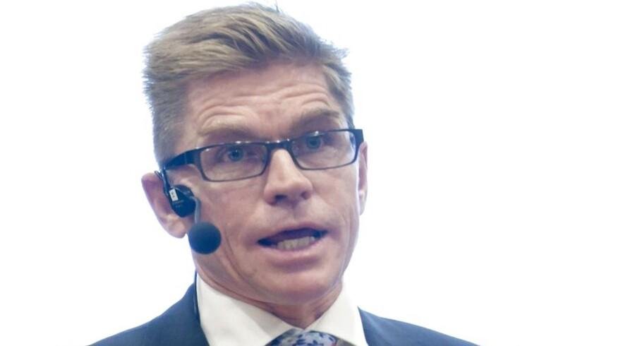 Ringkøbing Landbobanks adm. direktør John Fisker