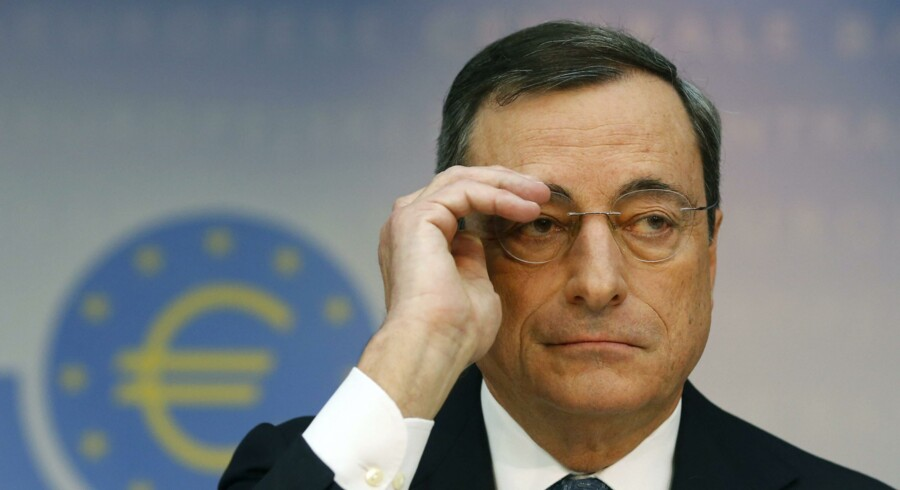 Præsidenten for ECB, Mario Draghi, er fortsat klar til at gøre »whatever it takes« for at redde euroen.
