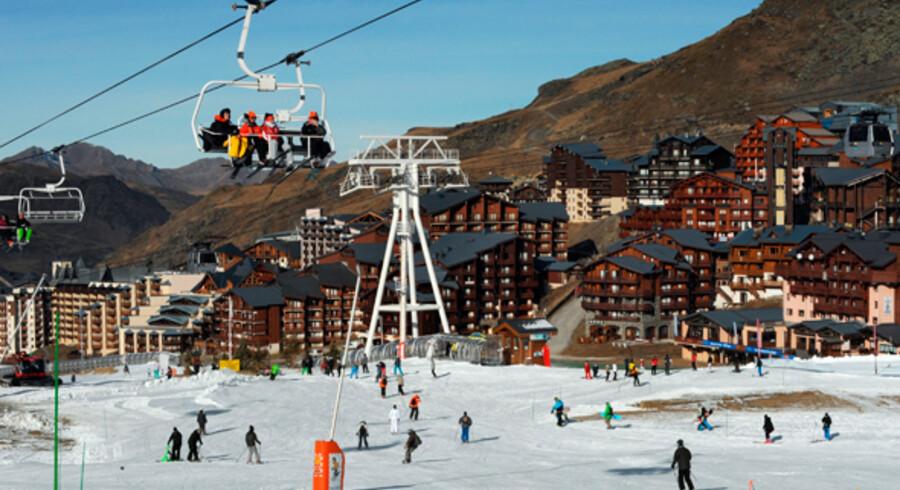 Der er gang i løjperne i Val Thorens, som er danskernes foretrukne skiområde i Frankrig.