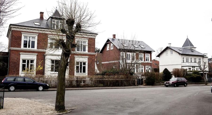 Villakvarter på Frederiksberg