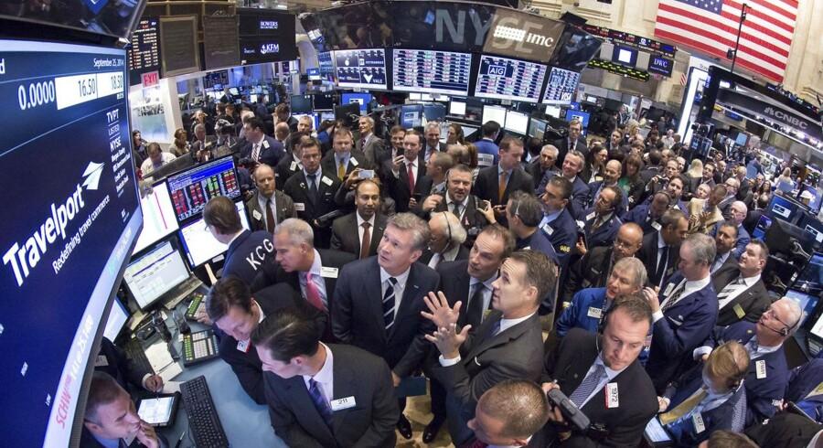 Det danske aktiemarked langt hen ad vejen styret af det amerikanske aktiemarked, der altså sætter stemningen på det globale aktiemarked.