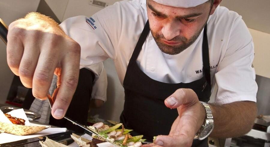 Årets restaurant 2012 blev således Frederikshøj tæt på Marselisborg i Århus, hvor den dansk-libanesiske kok Wassim Hallal står bag gryderne.