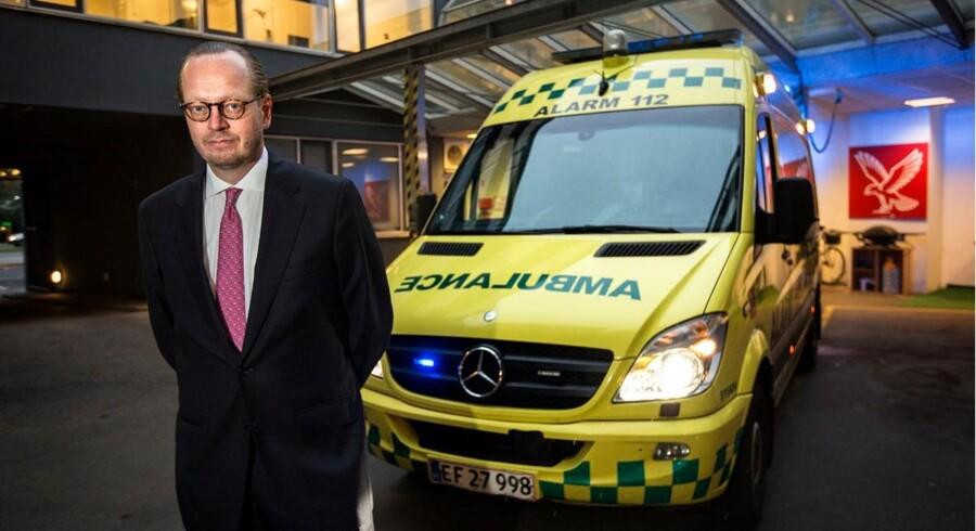Afgørende DSB-direktør Jesper Lok bliver administrerende direktør i Falck Emergency. Et uventet jobskifte, mener Berlingske Business' Peter Suppli.