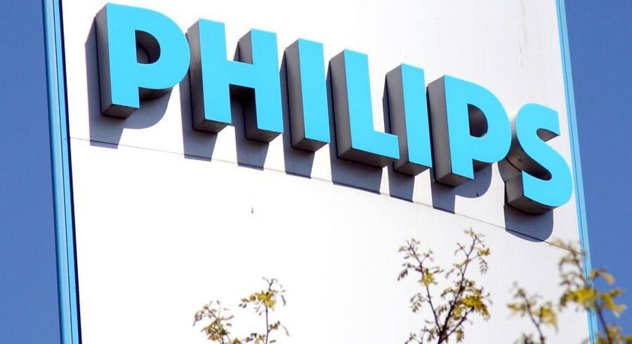 Philips blev ramt på TV-salget i julehandelen. Arkivfoto: Brian Bergmann, Scanpix