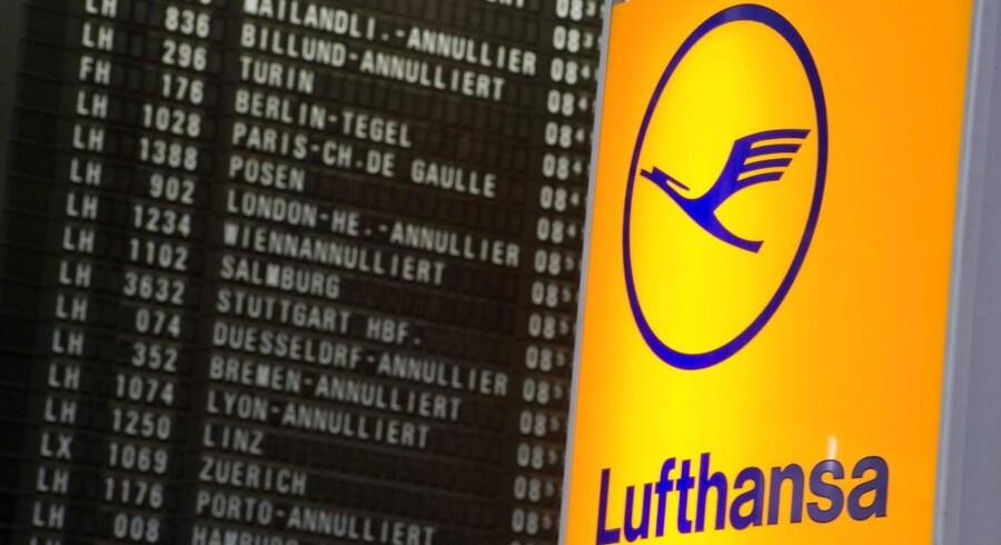 Fagforeningen og Lufthansas ledelse strides blandt andet om pensionsvilkår og datterselskabet Eurowings rolle i Lufthansas operationer.