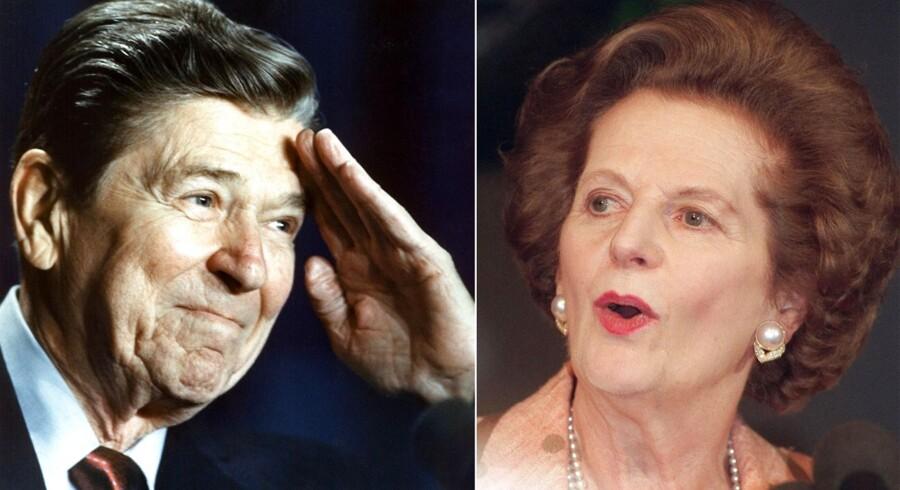 Tidligere præsident Ronald Reagans samtaler med diverse regeringschefer er blevet offentliggjort. Således også én han havde med Storbritanniens Margaret Thatcher.